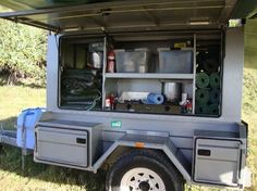 adventure camping traiker | ... Hervey Bay: Palace Adventures complete kitchen camp trailer