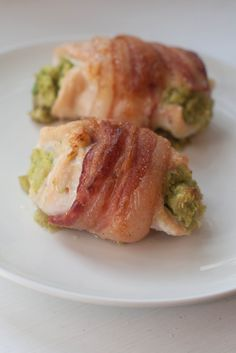 Avocado Stuffed Chicken Wrapped in Bacon (AIP/Paleo)