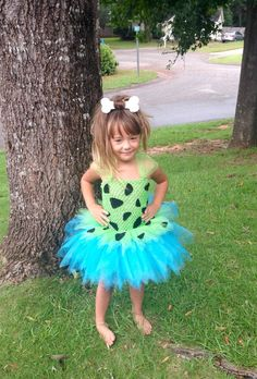 Pebbles Tutu Dress Pebbles Costume with by AngelinaRoseInspired