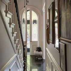 Hallway | Take a tour around a sophisticated New York brownstone | House tour | PHOTO GALLERY | Livingetc | Housetohome.co.uk
