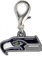 NFL Licensed Seattle Seahawks Logo Charm - http://www.thepuppy.org/nfl-licensed-seattle-seahawks-logo-charm/