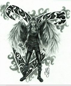 Clary Fairchild with angelical power (rune)