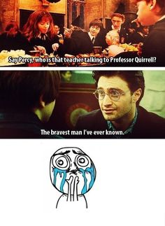 The first and the last mentions of Snape in Harry Potter.