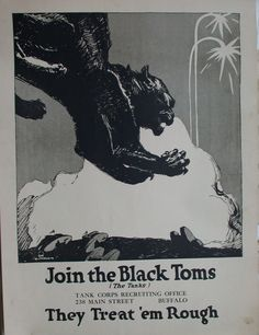 Join the Black Toms World War One, First World, Museums In Nyc, Black Toms, Old City, All Poster, Artist Names, Black Panthers