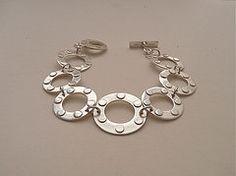 Sterling silver bracelet by Jill Endicott Jewellery