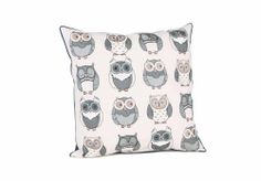 Dora Owl Cushion - Rugs and cushions - Living Room Storage | Bookcases | Furniture Village