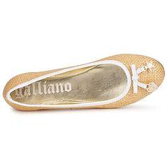 sapatilhas Galliano MINA 8116 Bege 350x350