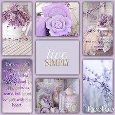 Goodmorning  Simple live #lilac #purple