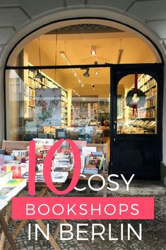 10 Cosy Bookshops - Your Bookshop Guide To Berlin