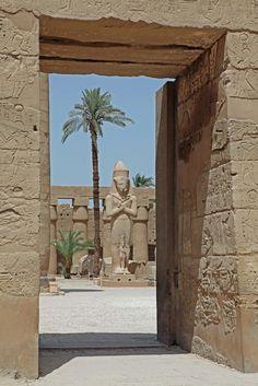 Karnak Temple By Jon Atkinson