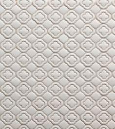White Mosaic Tile   Tilt Collection Clover Pattern In White Matte   Walker  Zanger Via Atticmag. White Mosaic TilesKitchen BacksplashMaster ...