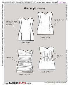 Fashion Flats: Fitting A Dress
