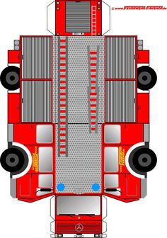 Tinker fire truck - Crafts for Teens