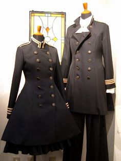 I vote this as the Military School Uniform at least on special occasions  Maybe a simplified version