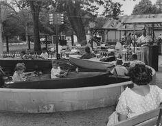 Kiddie Boat Ride at Marshall Hall.