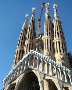 Sueños cumplidos  #sagradafamilia #barcelona #spain #travel #nofilter #brostrip