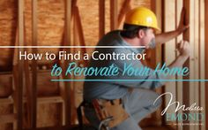 Looking for a contractor? Here's how to get started making a good decision:  http://www.melissaemond.com/how-to-find-a-contractor-to-renovate-your-home/