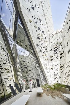 King Abdullah Petroleum Studies and Research Center - Architecture - Zaha Hadid Architects