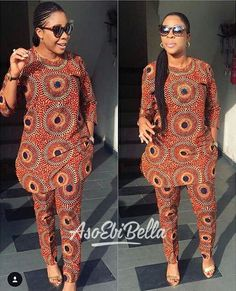 Stunning Ankara Tops And Trouser Styles For Super Ladies African Fashion Ankara, Latest African Fashion Dresses, African Dresses For Women, African Print Fashion, Africa Fashion, African Attire, African Women Fashion, African American Fashion, African Inspired Fashion