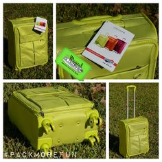 """Review of the American Tourister Colora 20"""" Spinner #PackMoreFun #SP"""