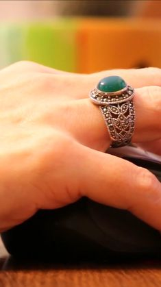 Silver Rings With Stones, Class Ring, Beaded Jewelry, Gemstone Rings, Gemstones, Gems, Pearl Jewelry, Jewels, Minerals