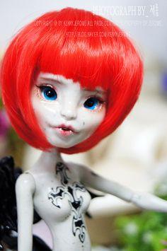 Monster High - Rochelle Goyle custom