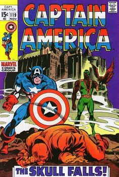 """Revenge is a dish best served with the final course: """"Freaky Friday"""" with Cap and the Skull concludes! (The complete saga also introducing the Falcon is reprinted in """"Essential Captain America"""" 2.)"""