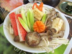 The Modern VEGETARIAN - Recipes: Yasai Udon with Dashi Sauce