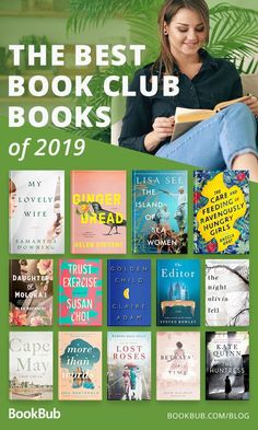 The Most Anticipated Book Club Books of 2019 Great book club books to read this year, including bestselling fiction from Best Book Club Books, Book Club Reads, Best Books To Read, I Love Books, Great Books, My Books, Reading Books, Book Club Food, Books To Read In Your 20s