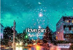 I love rain. unless it's that awful humid rain. Then it's no fun. But Scotland rain is the best! Nothing is more peaceful than walking through the Highlands when it's raining :) I Love Rain, No Rain, Rain Fall, Nerd, Justgirlythings, All That Matters, Totally Me, My Demons, Reasons To Smile