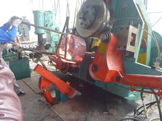 new type ring rolling machine