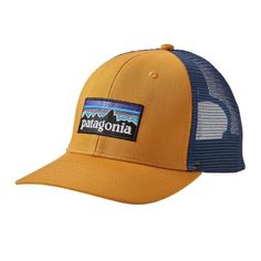 8c6b68affc8f6 Blue Ridge Mountain Outfitters - Patagonia P-6 Trucker Hat - Ysidro Yellow