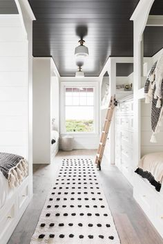 Dream Home: A Neutral Beach House Beauty in South Carolina BECKI OWENS bunk beds
