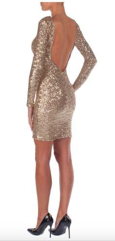 NADINE MERABI - SUZIE Sequin Party Dress