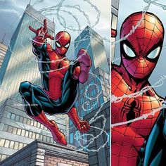 Spider-Man by Todd Nauck Colors by the amazing Andy Troy! #SpiderMan #Marvel #Spidey