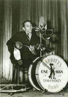 Ike Babbitt One Man Band- Art Babbitt's brother