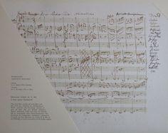 Mozart KLVIERTRIO D-MOLL K. V. 442 2. SATZ Partitur Musik Kunstdruck art print Art Prints, Detail, Ebay, Music, Art Print, Art Impressions
