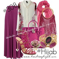 Hashtag Hijab Outfit #308,