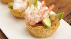 Prawn Cocktails in Kataifi Baskets with Marie Rose Sauce - Everyday Gourmet with Justine Schofield