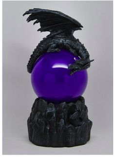 Such is not the case with this Sleeping Dragon Sandstorm Ball. Of course, you will not actually wake the dragon, but you can wake up the ball that the dragon sleeps on! Dragon Ball, Water Dragon, Blue Dragon, Dragon Light, Dark Punk, Goth Home Decor, Dragon Statue, 3d Prints, Collectible Figurines