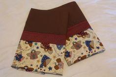 Handmade Guardian Angel Pillowcase standard/full SET by Fabricatedwithlove on Etsy