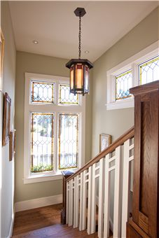American Craftsman: one of my favorite styles. Perfect mix of Craftsman and mode. , ideas craftsman style American Craftsman: one of my favorite styles. Perfect mix of Craftsman and mode. Craftsman Staircase, Craftsman Trim, Craftsman Interior, Modern Craftsman, Craftsman Style Homes, Craftsman Bungalows, Craftsman Windows, Craftsman Houses, Small Basement Remodel