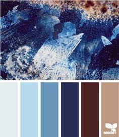 azules Cristalizados