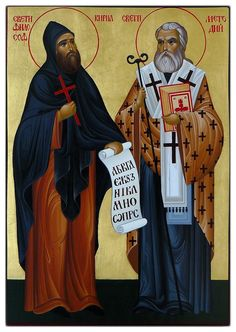I like that this one calls St Cyril 'the Philosopher'.