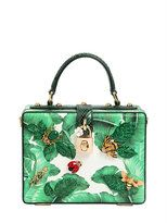 Dolce & Gabbana Embellished Dauphine Dolce Box Bag