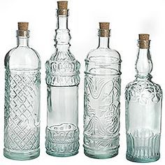 I'm on the prowl for pretty glass bottles to store home made tinctures, infusions and simple syrups.,. These from pier1 are $6