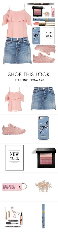 """""""..."""" by fashionista-sweets ❤ liked on Polyvore featuring BB Dakota, Frame, Reebok, Skinnydip, Bobbi Brown Cosmetics, Various Projects, Nina and Estée Lauder"""