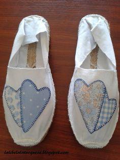 "la libélula turquesa: alpargatas ""abuela Petra""                                                                                                                                                                                 Más Espadrilles, Toms, Petra, Ideas Para, Sneakers, Google, Fashion, Slippers, Painted Sneakers"