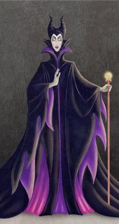 Maleficent by chostopher on DeviantArt (detail)