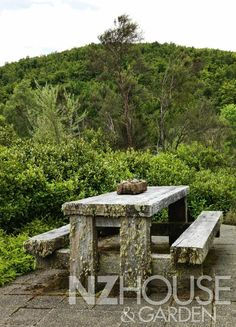Rustic Railway Sleeper Table and Benches